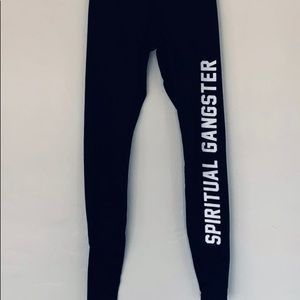 Spiritual Gangster Leggings